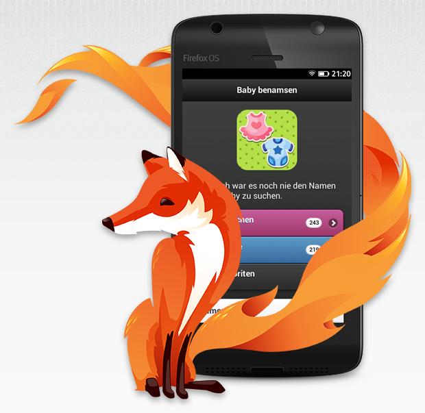 Baby benamsen auf Firefox OS